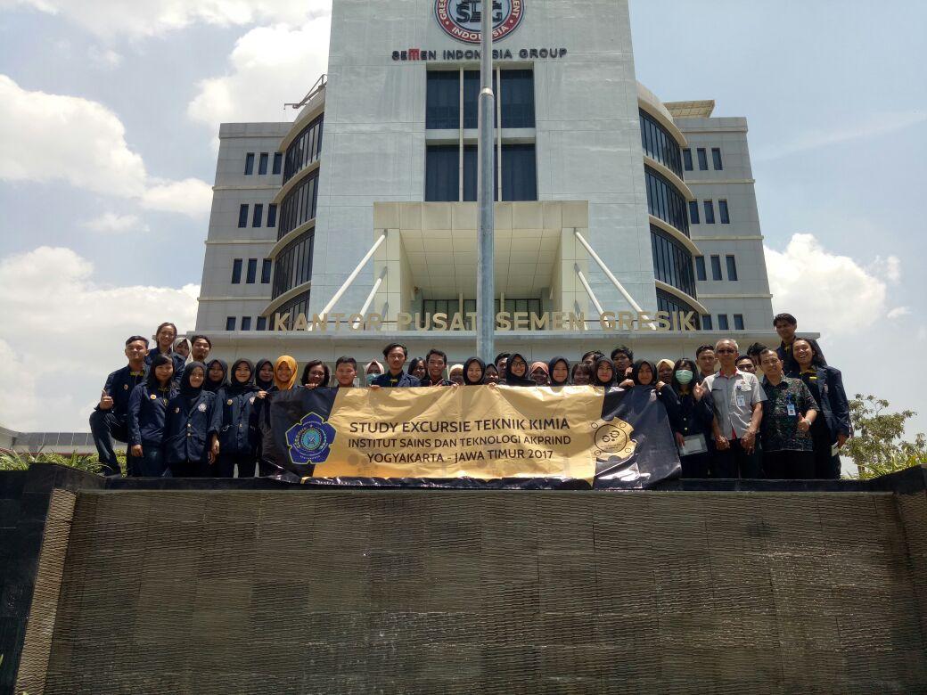 Mahasiswa Teknik Kimia Melaksanakan Studi Ekskursi ke PT Semen Indonesia dan PT TPPI  pada 11-14 September 2017