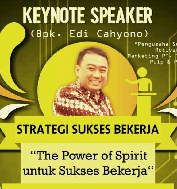 Pengumuman: Seminar Strategi Sukses Bekerja
