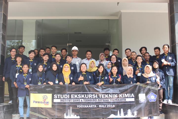 Studi Ekskursi Teknik Kimia Goes To Yogyakarta-Bali pada 10-15 Juli 2018