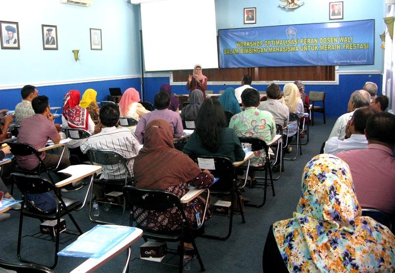 Workshop Optimalisasi Peran Dosen Wali Dalam Bimbingan Mahasiswa