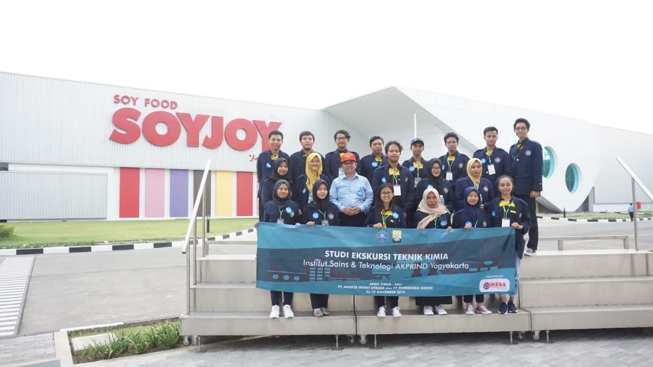Studi Ekskursi Teknik Kimia IST AKPRIND Goes To Yogyakarta-Bali pada 26-29 November 2019