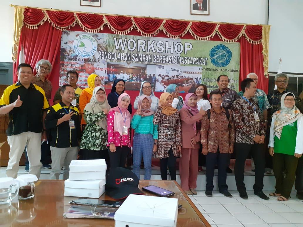 Workshop Pengolahan Sampah Berbasis Masyarakat dan Penandatangan MoU dengan 3GO